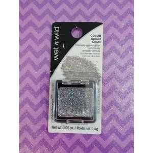 Wet n Wild Color Glitter Silver Eye Shadow Spiked